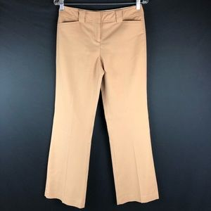 Express Stretch Tan Wool Blend Wide Leg Pants